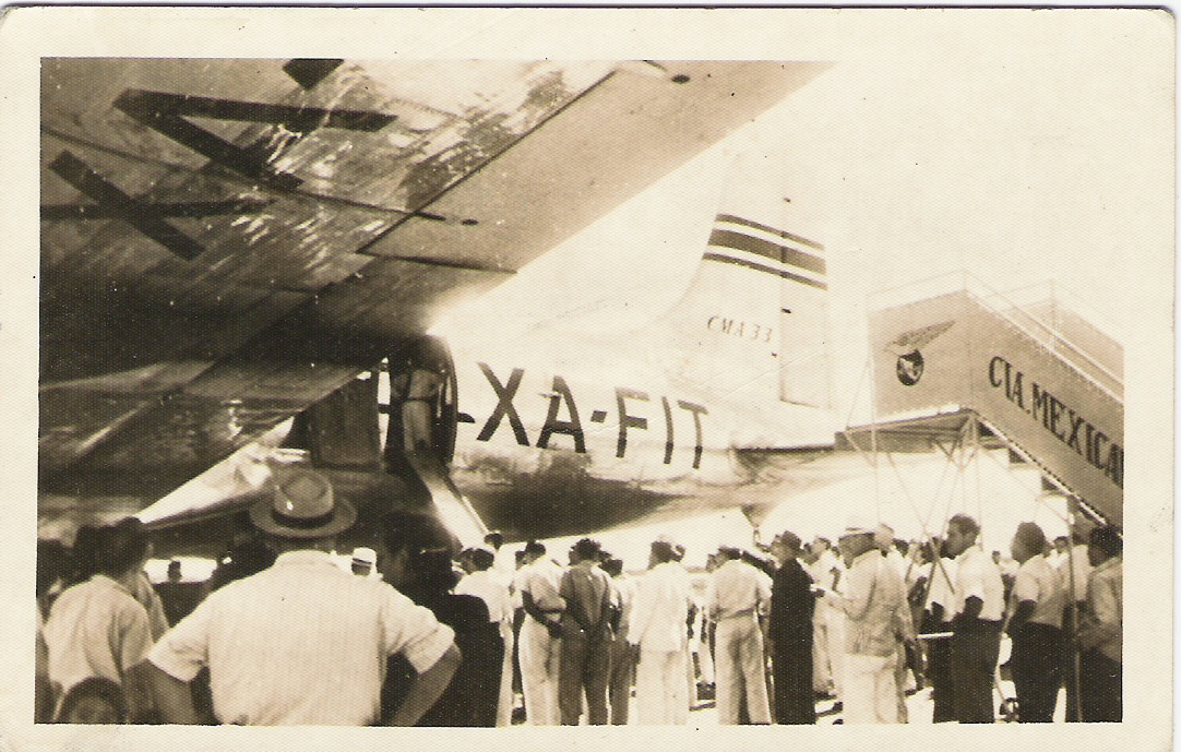 4. Primer DC-4 en Mérida