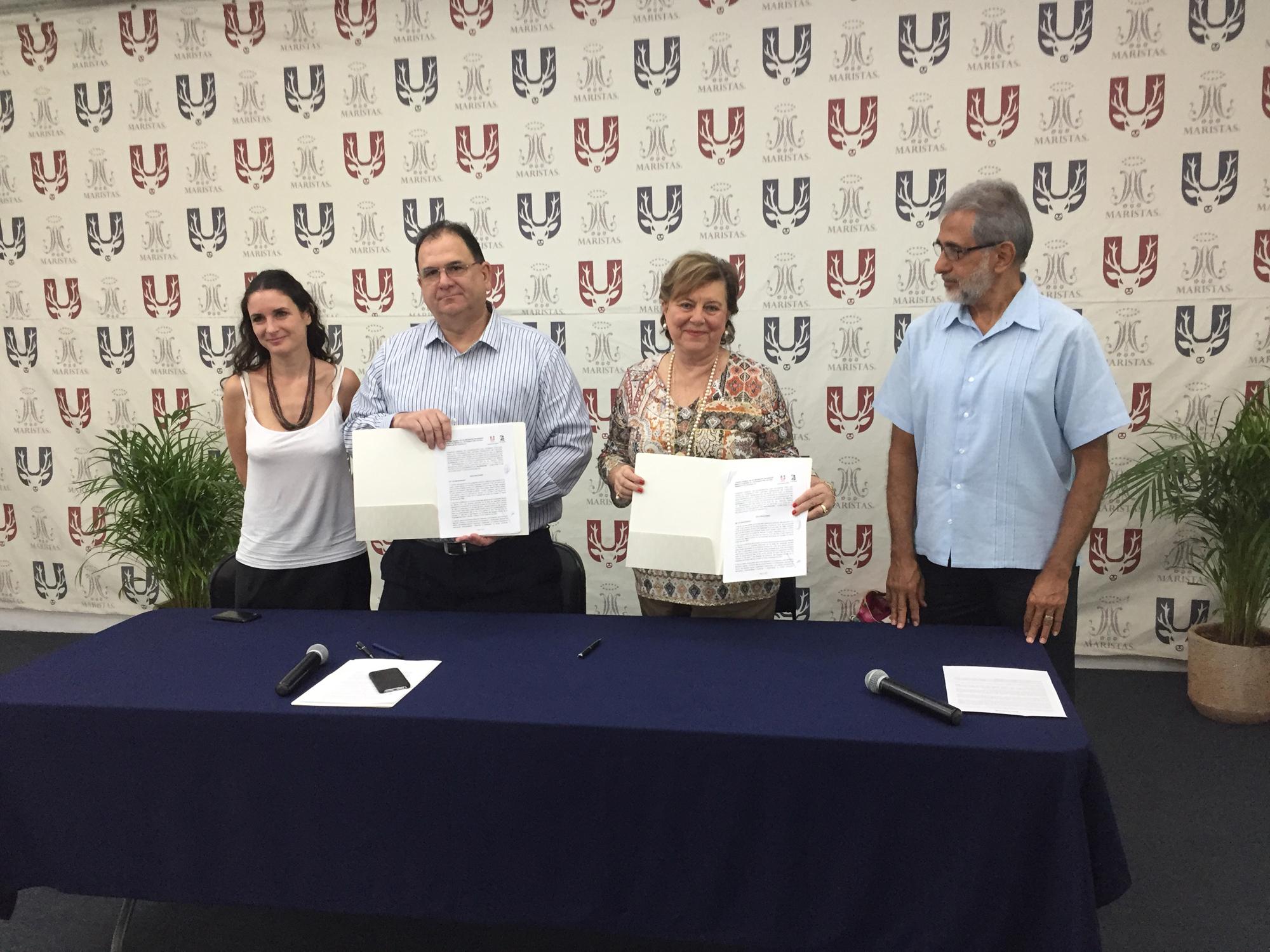 Firma Convenio Universidad Marista (1)